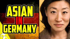 How do germans view asians