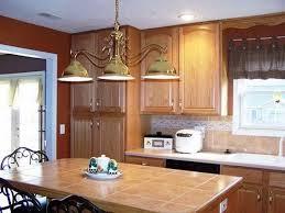 Image Of: Painted Oak Cabinets Honey