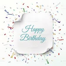 happy birthday word template paralegal resume objective examples happy birthday greeting card template stock vector art 467743996 happy birthday greeting card template vector id467743996