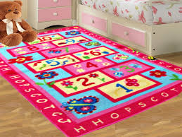 Bedroom: Kids Bedroom Rugs Luxury Kids Blue Hopscotch Boys Bedroom Floor Rug  Girls Play Mats