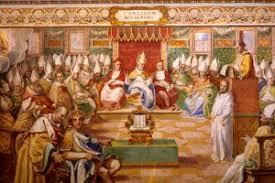 Di hadapan tuhan dan di tengah dunia ini gereja dan orang percaya mengikrarkan pengakuan imannya. Pengakuan Iman Nicea Konstantinopel Info Katolik