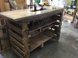 diy pallet bar. A Built In Ice Box The Bar Diy Pallet 0
