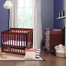 da vinci 2 piece nursery set kalani mini crib and 3 drawer mini crib with changing table