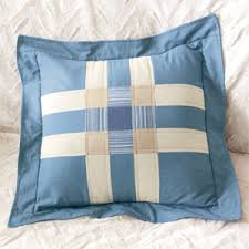 Chambray Blues: FREE Plaid Block Quilted Pillow Pattern - The ... & Chambray Blues: FREE Plaid Block Quilted Pillow Pattern Adamdwight.com
