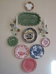 image for hanging plates on wall to decorate