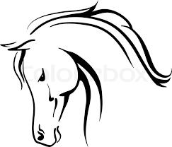 horse head clipart. Wonderful Horse For Horse Head Clipart E