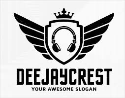 Templates For Logo Free Dj Logo Templates 9473