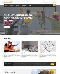 Construction Website Templates Mesmerizing 48 Best Construction WordPress Themes 48 SlashWP