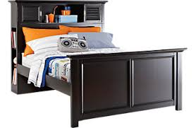 full beds for boys.  Full Belmar Black 3 Pc Full Bookcase Bed To Beds For Boys R