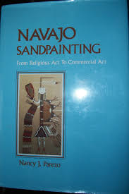 navajo sandpainting from religious act to commercial art nancy j parezo 9780816507917 com books