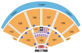 Cynthia Woods Mitchell Pavilion Interactive Seating Chart