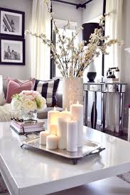 This mother pearl vase from HomeGoods looks great mixed in with all these  neutral colors. Livingroom Table DecorCoffee Table Decor ...