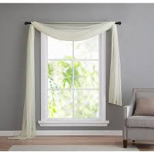 living room curtains with valance. 3. scarf valance living room curtains with o