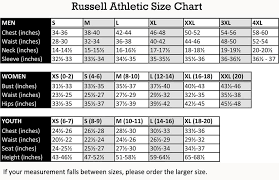 45 Extraordinary Russell Hoodie Size Chart