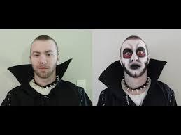 male demon makeup