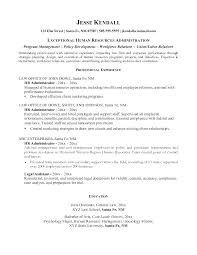 Entry Level Human Resources Resume Hr Entry Level Human Resources Fascinating Entry Level Human Resources Resume