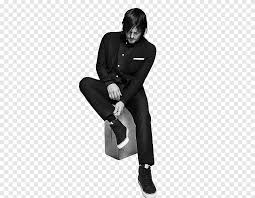 daryl dixon black and white actor