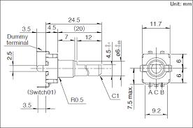 Encoder Cross Reference Chart Ec11 Series Basic Information