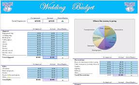 Wedding Budget Template Excel Luxury Wedding Planner Wedding