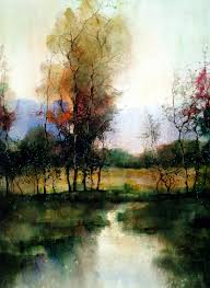 watercolor landscape paintings zl feng from shanghai is brilliant with his watercolour landscape paintings and has won several international awards for his
