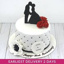 Wedding Anniversary Cake Wedding Anniversary Cake With Pic