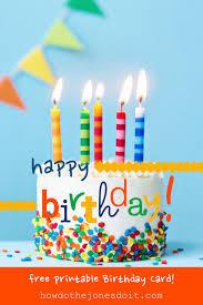 free printable photo birthday cards happy birthday card free printable how do the jones do it