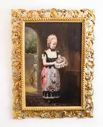 antique oil painting john horsburgh 1881 for 4
