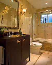 Small Bathroom  Small Bathroom Remodels In Brown Theme With Brown - Small bathroom redos