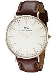 mens watches shop amazon uk daniel wellington classic st mawes rose men s quartz watch white dial analogue display and brown leather