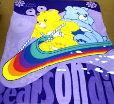 care bears grumpy bear fleece throw blanket 125x15
