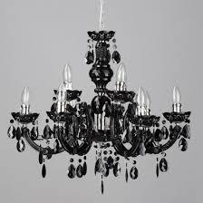 black 9 light marie therese crystal effect chandelier home lighting litecraft
