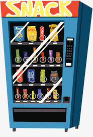 Free Vending Machine Snacks Beauteous Cartoon Snack Vending Machine Vending Machine Snacks Drink PNG