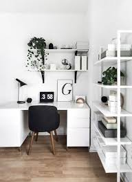 White Bedroom Desk Interior Architecture | Partitions Net white ...