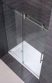 sliding glass shower door hardware beautiful aston sdr978 60 frameless clear glass sliding shower door