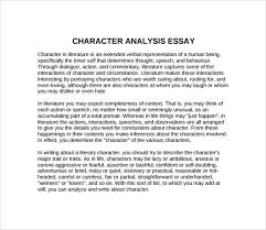 brilliant ideas of example of character analysis essays about awesome collection of example of character analysis essays on format sample