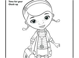 Doc Mcstuffins Coloring Pages Online Halloween Christmas Printable