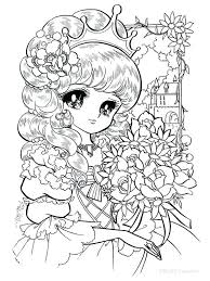 Japanese Anime Coloring Pages Coloring Pages Girl Coloring Pages