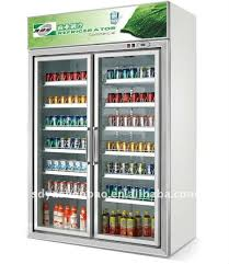 Stand Up Display Freezer Convenience store refrigeratorBeverage fridgeUpright display 72