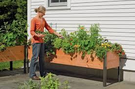 outdoor planter boxes. Elevated Cedar Planter Box. 2\u0026#8217; X 8\u0026#8217; Outdoor Boxes
