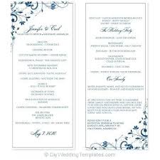 microsoft office funeral program template blank funeral program template word office wedding ms skincense co