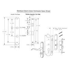 storm door handle parts schematic screen andersen replacement hinge