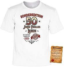 T Shirt 50 Geburtstag Geburtstagsshirt Sprüche Jahrgang 1969 50