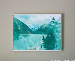 diy large scale wall art on how to create wall art in photoshop with diy large scale wall art mountain modern life