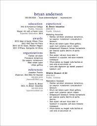 12 More FREE Resume Templates | Primer Resume 11