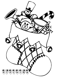 Small Picture Printable Coloring Pages Christmas Stocking Free Christmas