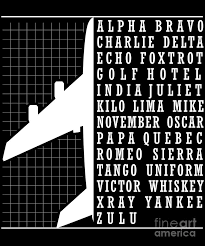 Start studying international phonetic alphabet. Phonetic Alphabet Airplane Pilot Flying Aviation Digital Art By The Perfect Presents