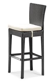 zuo modern anguilla outdoor bar chair