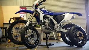 2015 wr450f motard conversion in less than 5 minutes youtube