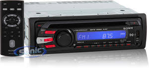sony cdx gt35u in dash single din mp3 cd usb head unit product sony cdx gt35u