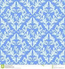 Light Blue Seamless Damask Wallpaper ...